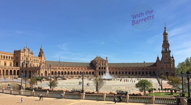 Plaza Espana Courtyard