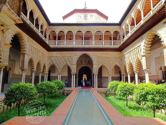 Courtyard at Real Alcazar